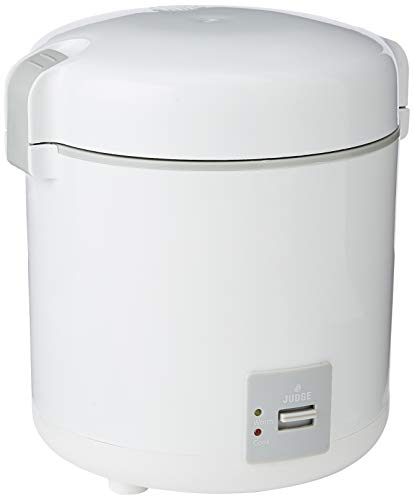 Judge Mini Rice Cooker, White, 300 ml