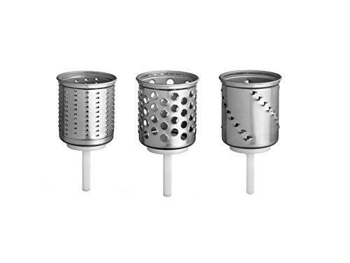 KitchenAid EMVSC Shredding and Grating Pack (Optional Accessory for KitchenAid Stand Mixers)