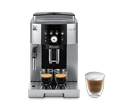 De'Longhi Magnifica S Smart, Automatic Bean to Cup Coffee Machine, Espresso, Cappuccino, ECAM250.23.SB, Silver