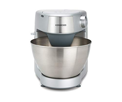 Kenwood Prospero Plus KHC29.A0SI Stand Mixer for Baking, Compact 4.3L Bowl, 3 Bowl Tools, 1000W, Silver