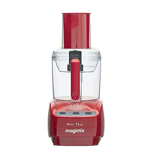 Magimix 18253 Le Mini Plus Food Processor, 1.7 liters, Red