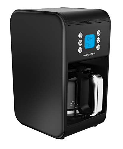 Morphy Richards 162008 Pour Over Filter Coffee Maker, 1.8 Litre, 900 W, Black, Morphy Richards Coffee Machine