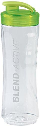 Breville VBL106 Blend Active Bottle   0.6 L   Clear Smoothie Bottle   Green Lid