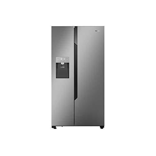 Hisense 535 Litre American Fridge Freezer - Silver