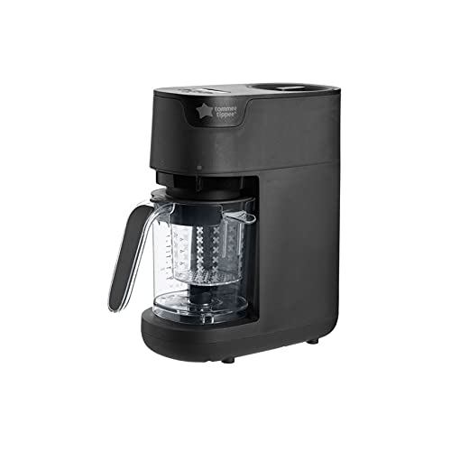 Tommee Tippee Quick Cook Baby Food Steamer and Blender, Black