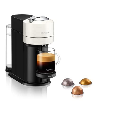 Nespresso Vertuo Next 11706 Coffee Machine by Magimix, Contrast White