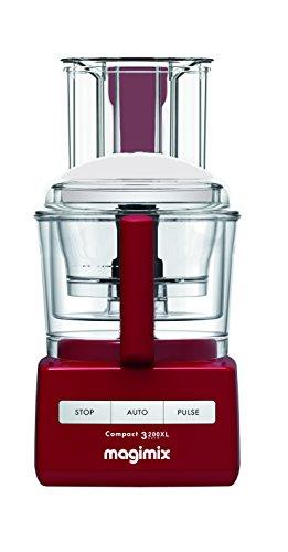 Magimix 18364 3200XL Food Processor, BPA-Free, Red