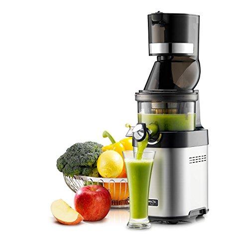 Kuvings CS600 Commercial Cold Press Juicer Fruit Smoothie Machine Shop Deli Restaurant Bar Club for Drink Shakes Orange Apple