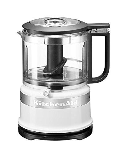 KitchenAid 5KFC3516 Classic Mini Food Processor, 240 W, 830 ml, White, 5KFC3516BWH