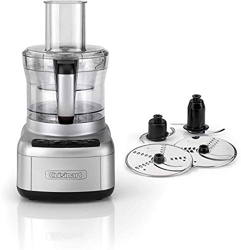 Cuisinart Easy Prep Pro   2 Bowl Food Processor With 1.9L Capacity   Stainless Steel   FP8U