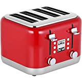 Kenwood kMix TFX750RD 4-Slice Toaster - Red