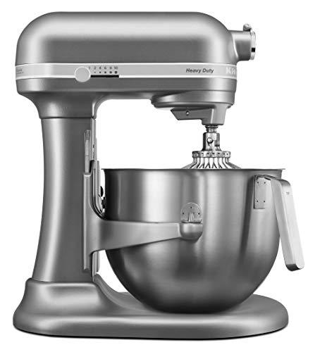 KitchenAid Heavy Duty Stand Mixer 6.9Ltr Silver 5KSM7591XBSL