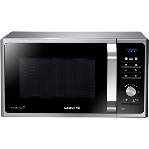 Samsung MS23F301TAS - Solo Microwave Oven in Silver Tact
