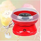 Professional Cotton Sugar Candy Floss Maker Home Kids Sweet Gift Party Supplies UK Plug Red