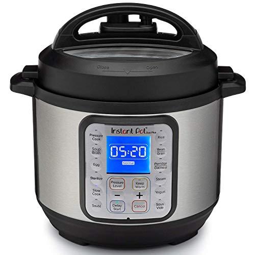 Instant Pot Duo Plus 3L Electric Pressure Cooker. 13 Smart Programs: Pressure Cooker, Rice Cooker, Slow Cooker, Steamer