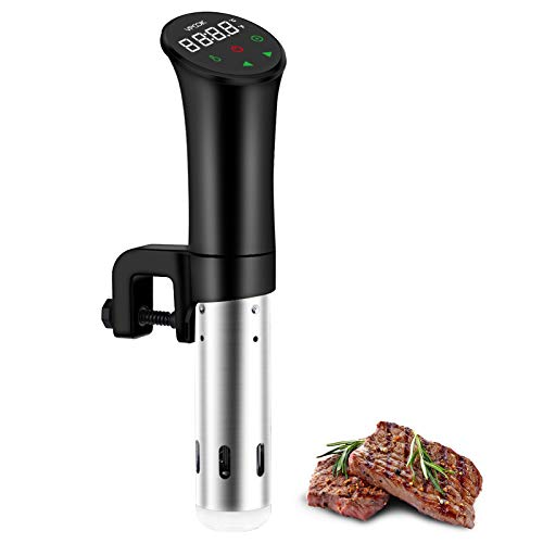 Sous Vide Cooker VPCOK Sous Vide Machine Immersion Circulator Sous Vide Precision Cooker Accurate Temperature and Time Control