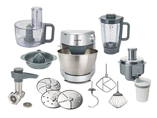 Kenwood Prospero KHC29.N0SI 6-in1 compact Stand Mixer Kitchen machine, blender, Food Processor, 4,3L bowl, 1000W, Silver