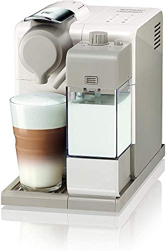 De'Longhi Nespresso Lattissima Touch, Single Serve Capsule Coffee Machine, Automatic frothed milk, Cappuccino and Latte, EN560.W, White