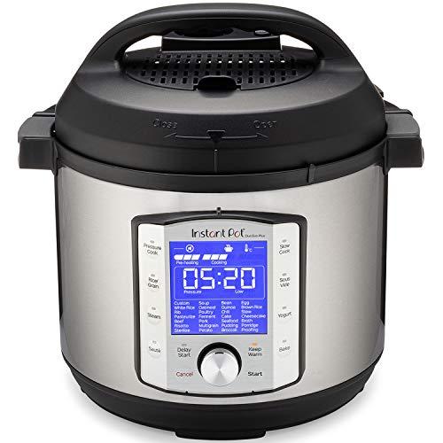 Instant Pot Duo Evo Plus 10-in-1, 5.7L Electric Pressure Cooker, Sterilizer, Slow Cooker, Rice Cooker, Grain Maker, Steamer, Sauté, Yogurt Maker, Sous Vide, Bake, and Warmer 220V
