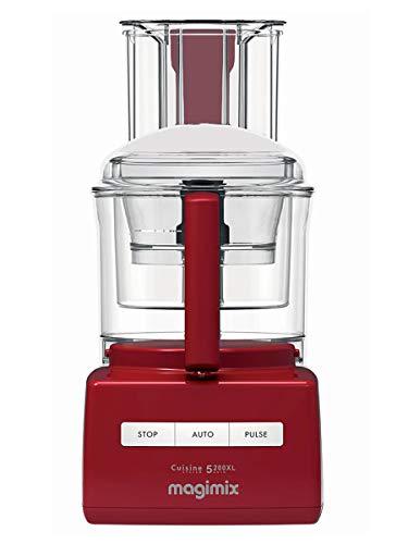 Magimix 5200XL Premium Food Processor, Red