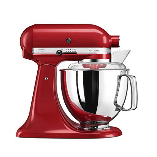 KitchenAid 4.8 Litre Artisan Stand Mixer 5KSM175PS (Empire Red)