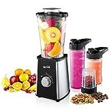 Housmile Blender, Mixer & Food Processor, Ice Crusher Grinder & Juicer,Capacity 600ml
