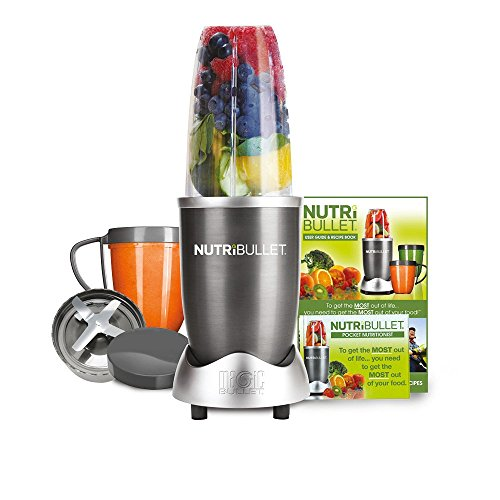 NUTRiBULLET 600 Series - Nutrient Extractor High Speed Blender - 600W 8 Piece Set - Graphite (Renewed)